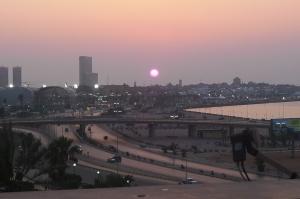 Trípoli ; a cidade vista do alto