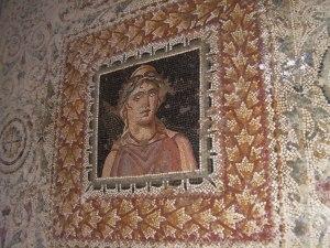 Mosaico de Bula Regia Tunísia